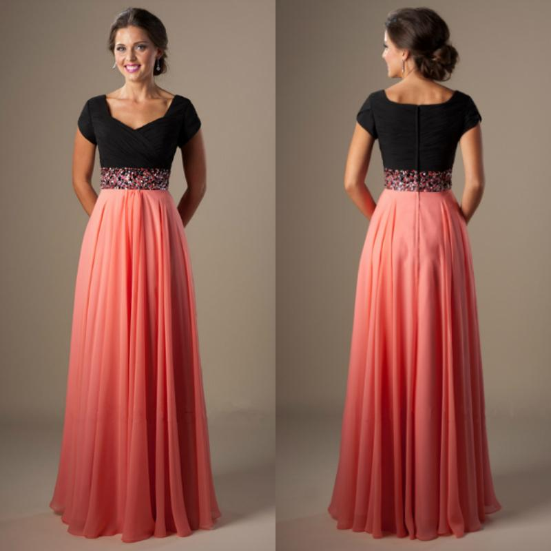 Popular Modest Cheap Prom Dresses-Buy Cheap Modest Cheap Prom ...