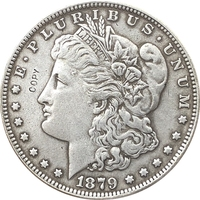 1879-S EUA Dólar Morgan moedas COPIAR