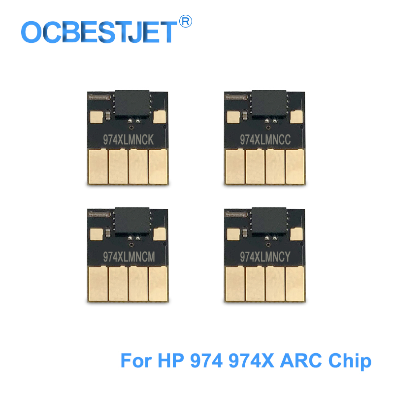 974 ARC Chip For 974 974X 974XL Auto Reset Chip For HP PageWide Pro 352dw 377dw 452dn 452dw 477dn 477dw 552dw Permanent Chip auto reset permanent use cartridge chip