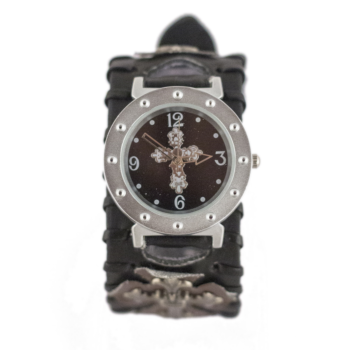 mens trendy watches promotion shop for promotional mens trendy modern rock trendy cuff vintage cross woven bracelet mens watches punk style watch gifts rock clock fashion wide strap women