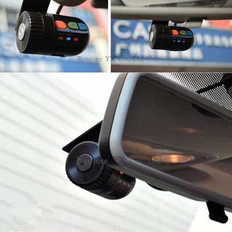 Koorinwoo HD Автомобильный видеорегистратор камера рекордер перерабатываемый видео AV RCA вход ночного видения 1920 P Авто фронтальная камера с тахографом безопасный Asystem