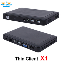 Participant Linux Client Léger PC Station X1 avec Tout Le Gagnant A20 512 M RAM Linux 3.0 OS RDP 7.0 Protocole