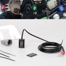 купить For Suzuki Bandit GSF650 GSF1250N GSF1250NA GSF1250S GSF1250SA LED Electronics 1-6 Level Gear Indicator Moto Speed Digital Meter по цене 2174.08 рублей