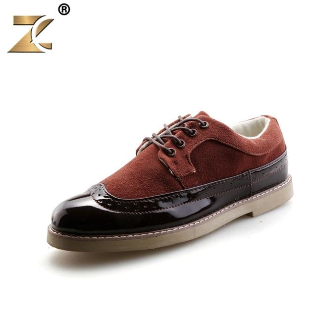 c6e833f98 2016 Известный Ретро Скраб Повседневная Обувь Корова Замши Мода Открытый  Дышащий Прочный Оксфорд Мужчины Обувь zapatillas