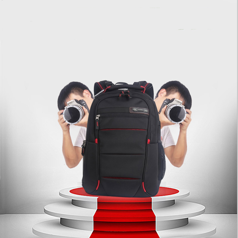 CAREELL Bag C3050 Men Women Backpack For Camera Digital Shoulders Large Capacity Backpack for Canon Nikon SLR Camera Bag new genuine lowepro transit backpack 350 aw slr camera bag backpack shoulders with all weather cover wholesale