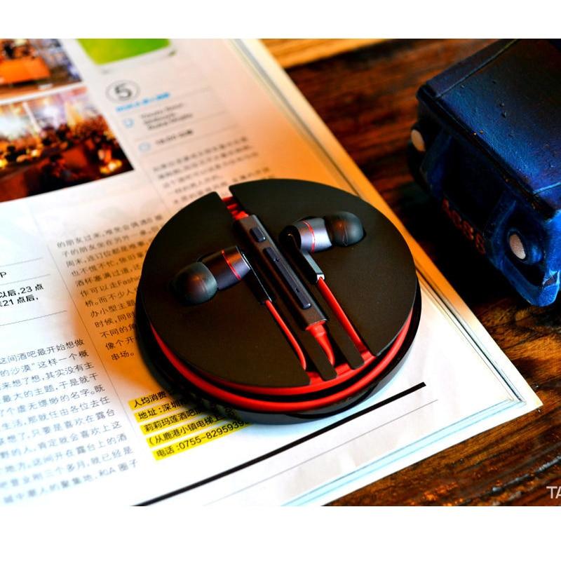 imágenes para Original zte nubia hi-fi estéreo blanco 3.5mm para auriculares auriculares en la oreja los auriculares mic alejado para zte nubia z11 nx531j android