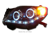 for Toyota Prado Headlights 2009 2013 year V1 Car lights Assembly LF