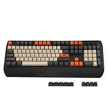 YMDK الكربون صبغ الفرعية 108 87 61 مفتاح ماك مفاتيح سميكة PBT OEM الشخصي Keycap لمعيار 104 TKL 60% MX مفاتيح لوحة المفاتيح