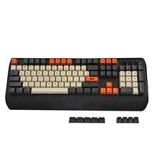 YMDK углеродный краситель Sub 108 87 61, клавиши Mac, толстый PBT OEM профиль, Keycap для стандартной 104 TKL 60% MX переключатели клавиатуры