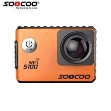 RU Lager SOOCOO S100 4 Karat Sport Kamera 4 Karat Wifi Eingebaute Gyro mit GPS Extension (GPS Modell nicht enthalten) Action Cam