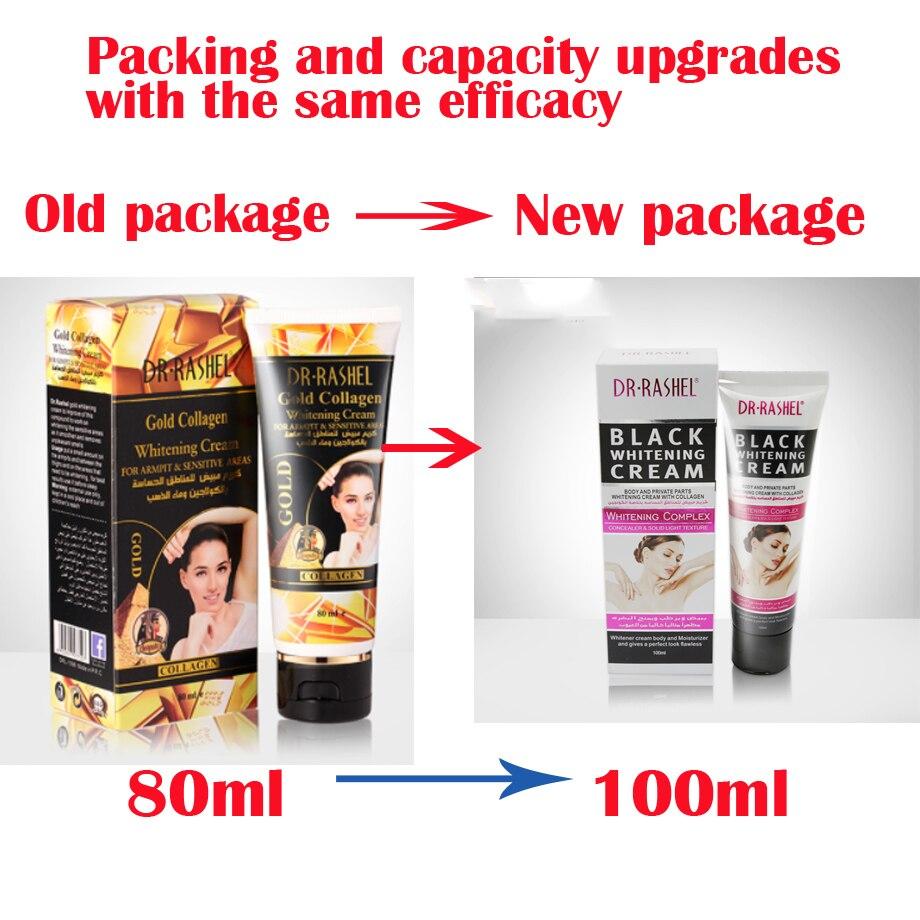 Gold Collagen Armpit Whitening Cream Body Underarm Whitening Cream Legs and Knees Private Parts Skin Whitening Korean Skin Care 5