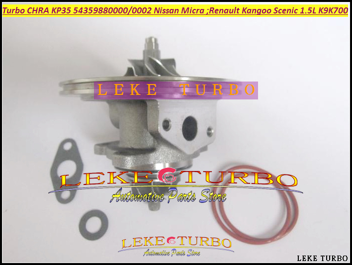 Free Ship Turbo Cartridge CHRA KP35 54359700000 54359700002 For NISSAN Micra For Renault Kangoo Megane Scenic 1.5L K9K K9K700 turbo cartridge chra core gt1752s 733952 733952 5001s 733952 0001 28200 4a101 28201 4a101 for kia sorento d4cb 2 5l crdi