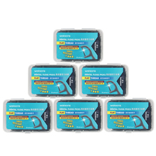 Carbon Toothpicks Floss Interdental Clean Charcoal Dental Flosser Teeth Stick Smooth Flat Thread Personal 50pcs/box*6 Oral Care
