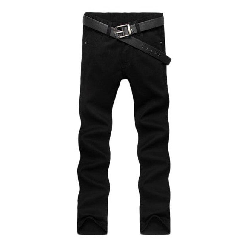 Four Season Men Jeans  Slim Straight Pants Black Color Jeans Men Pants пена монтажная mastertex all season 750 pro всесезонная