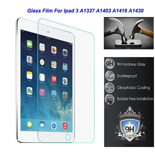 """imágenes para Para Apple Ipad 3 Ipad3 A1337 A1416 A1430 A1403 Seguridad 9.7 """"0.3mm Templado Película Protectora De Vidrio en la Tableta"""