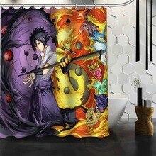 Best Nice Custom Naruto Anime Shower Curtain Bath Curtain Waterproof Fabric For Bathroom MORE SIZE WJY&111