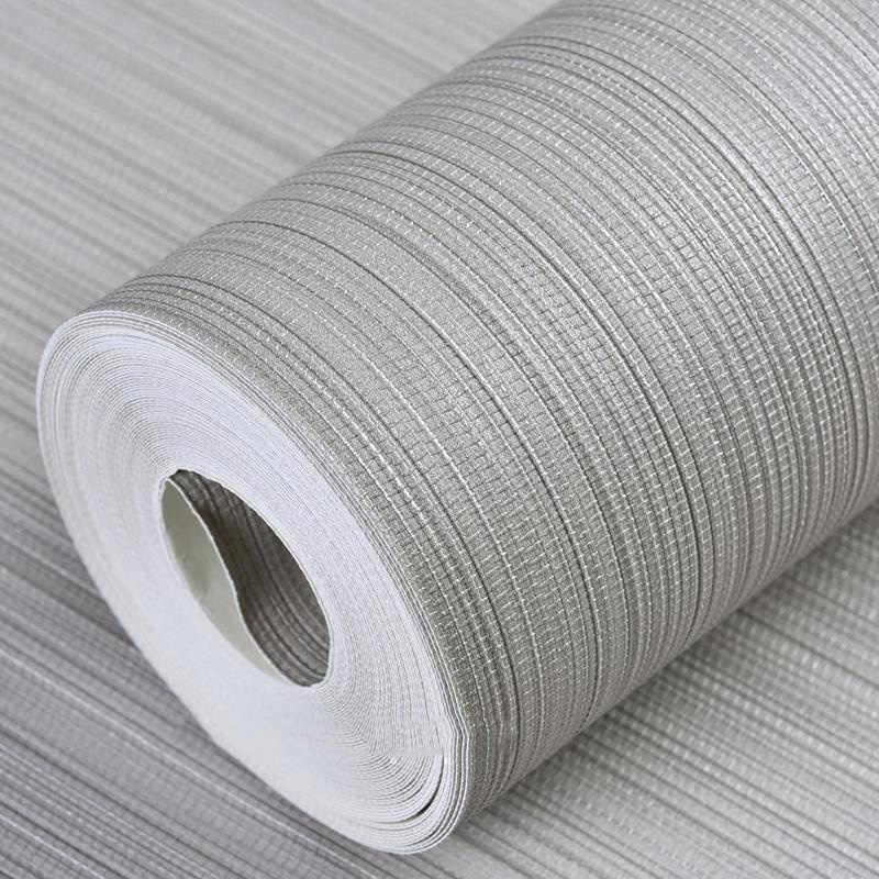 ... Modern Plain Solid Color Straw Textured Wallpapers Horizontal Faux  Grasscloth Washable Vinyl Vertical Strip Wall Paper ...