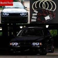 Haute Qualité COB Led Lumière Blanc Halo Cob Led Angel Eyes anneau Sans Erreur pour BMW E36 E38 E39 E46 avec projecteur