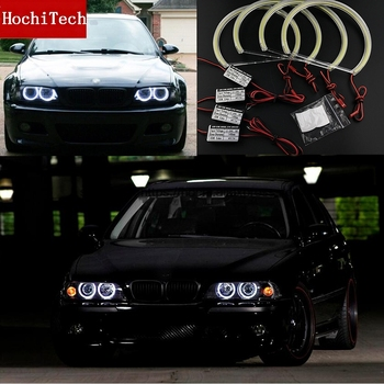 High Quality COB Led Light White Halo Cob Led Angel Eyes Ring Error Free for BMW E36 E38 E39 E46 with projector image