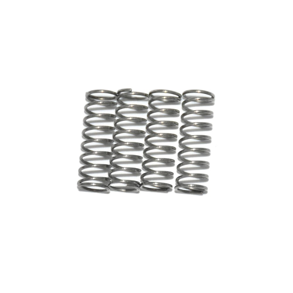 10pcs compression spring 304 stainless steel feeder spring anti corrosion extension springs spring compression spring extension torsion abrasives 300 0 5 5