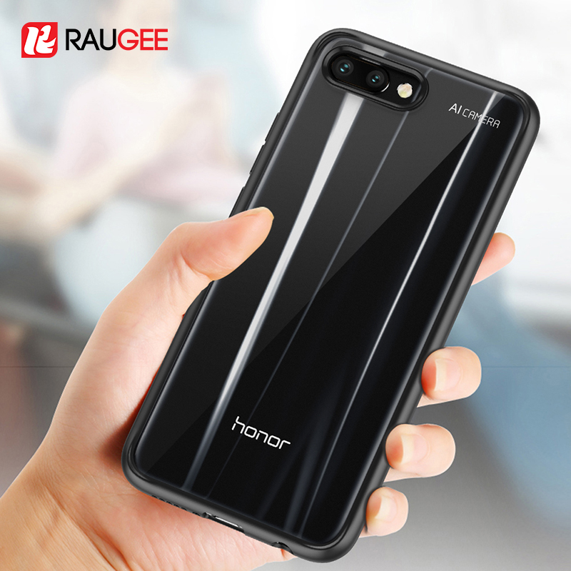 381b6957582 Case For Honor 10 Case Shockproof Rugged Bumper Transparent Soft TPU  Silicon Phone