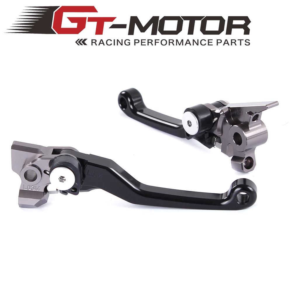 GT motor - Pivot Brake Clutch Levers for KTM 450XC-W 450EXC/R 500XC-W/EXC (SIX DAYS) HUSQVARNA TE300 FC/FE250-501