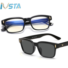 IVSTA Blue Light Glasses Frame Men Computer Glasses Myopia S