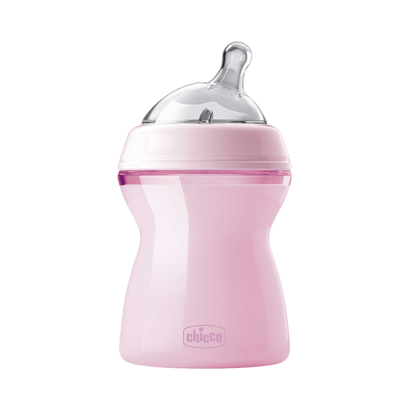 Bottle Chicco Natural Feeling 2 month +, 250ml, Pink feedkid vintage crystal perfume bottle pink long spray atomizer refillable glass 100ml