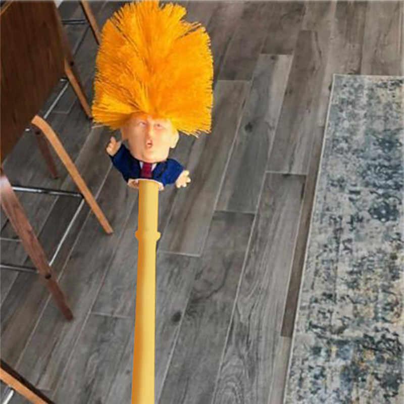 Дропшиппинг оригинальный Трамп туалетная щетка держатель туалетной щетки WC Borstel Дональд Трамп сделать туалет отличный снова Commander в гемории