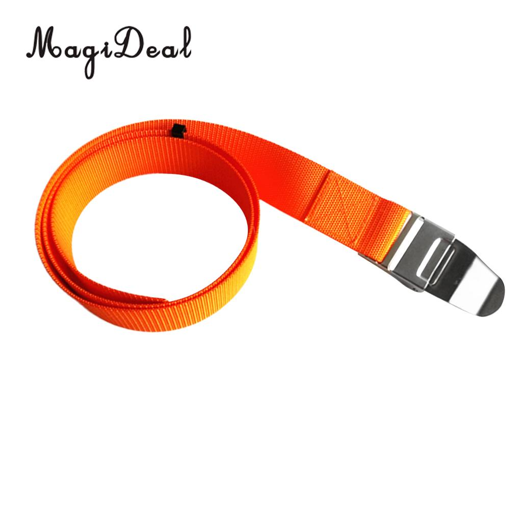 MagiDeal Heavy Duty 150cm Scuba Diving Weight Belt Webbing With Quick Release/Keeper Buckle For Free Diving Swiming Boating