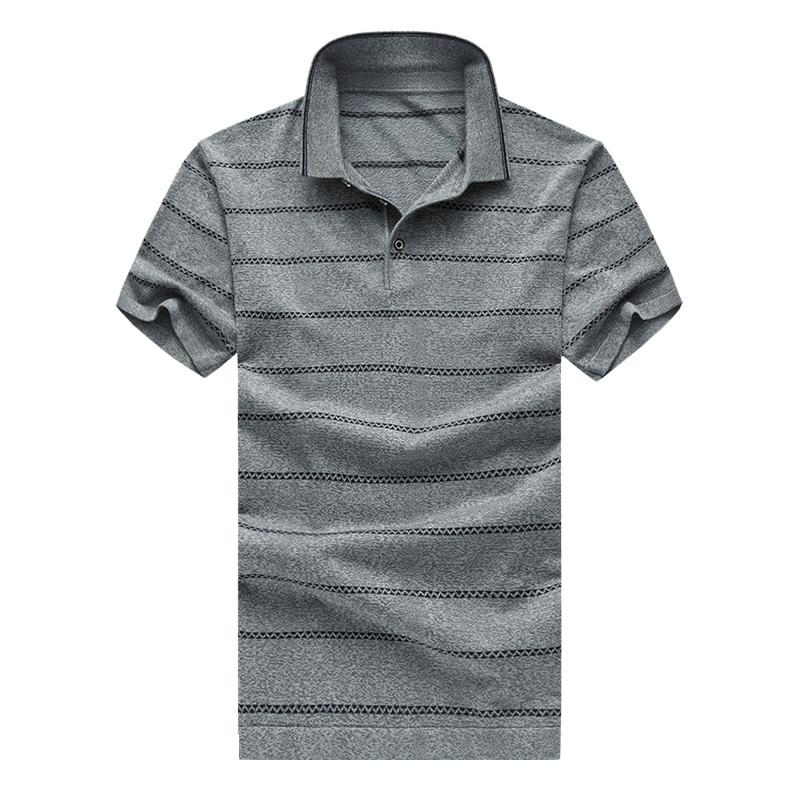 Venta caliente para hombre camisa de polo a rayas verano moda hombre - Ropa de hombre - foto 5