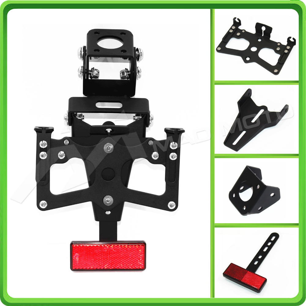 For Yamaha R6 YZF-R6 2006-2015 2007 2008 2009 2010 2011 2012 13 Motorcycle Adjustable Fender Plate Bracket License Plate Holder motocross dirt bike enduro off road wheel rim spoke shrouds skins covers for yamaha yzf r6 2005 2006 2007 2008 2009 2010 2011 20