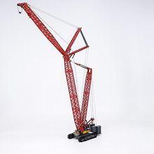 Коллекционная модель из сплава игрушка подарок 1:120 масштаб SANY SCC4000 гусеничный кран башня инженерное оборудование литья под давлением Игрушка Модель дисплея