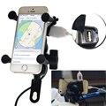 Универсальный держатель для телефона  мобильный телефон с поворотом на 360 градусов  3 5-6 3 дюйма  gps  с usb-портом для зарядки 5 В