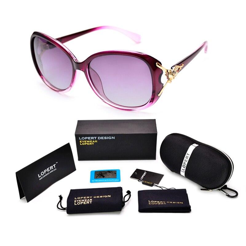 5aa1c1fc4c1d לחץ להגדלה. LOPERT Hot Polarized Sunglasses Women Fashion Cat Eye Glasses  ...