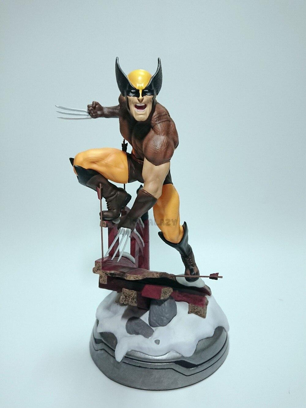 Figurine Wolverine Logan Justice League ARTFX + X Force Statue X hommes arme X fer homme figurine d'action modèle Collection jouet