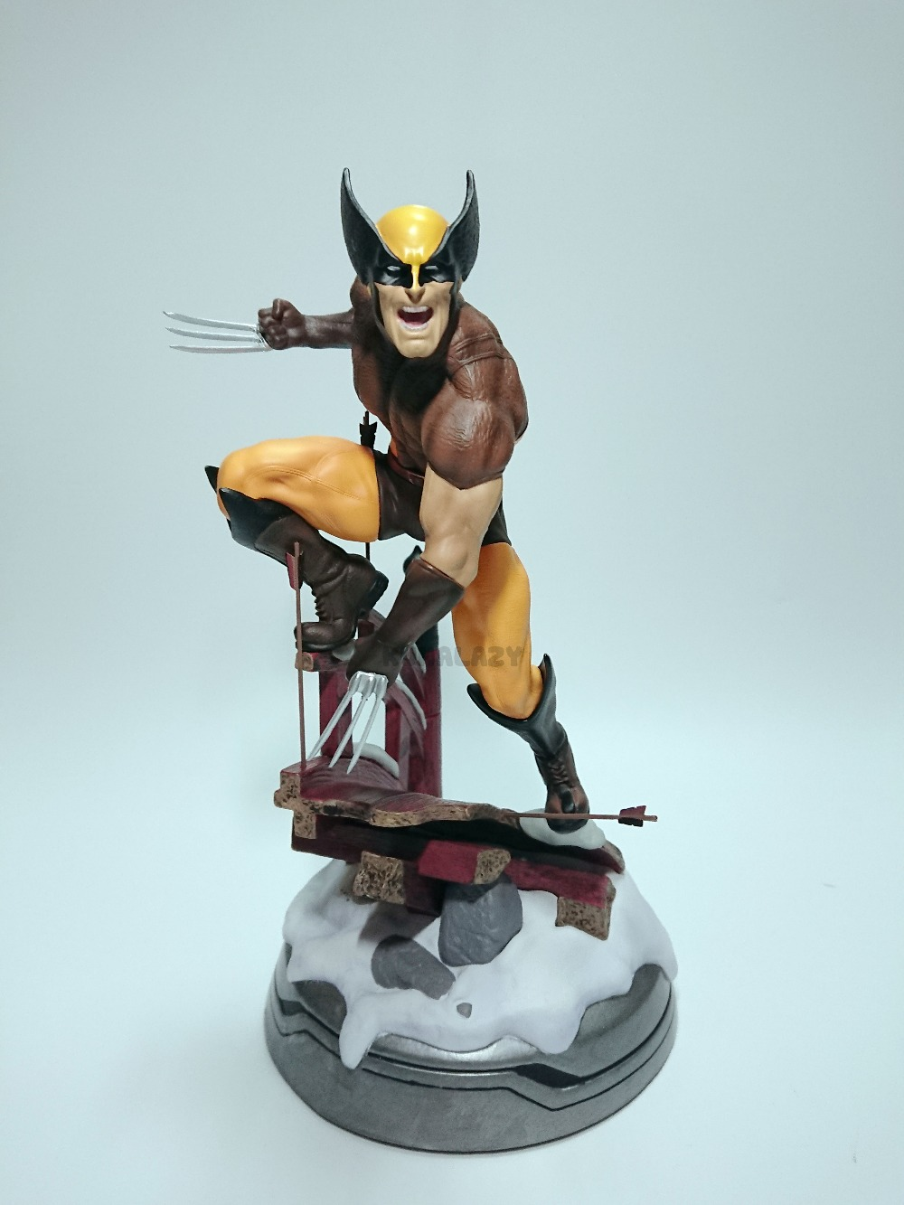 Wolverine Figure Logan Justice League ARTFX+ X Force Statue X MEN Weapon X Iron Man Action Figure Model Collection Toy x men wolverine bust action figure logan resin statue wolverine collectible model toys bust toy doll gift