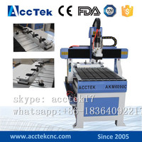 Advanced Linear ATC Wood Mini Cnc Router AKM6090C With Easy Servo Motor