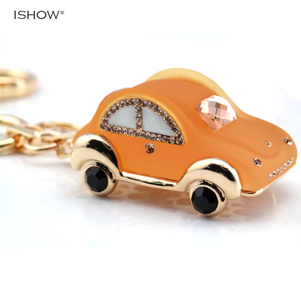 Christmas gifts novelty items crystal keychains for resin car fashion jewelry key chain bag charm metal keychain for the keys