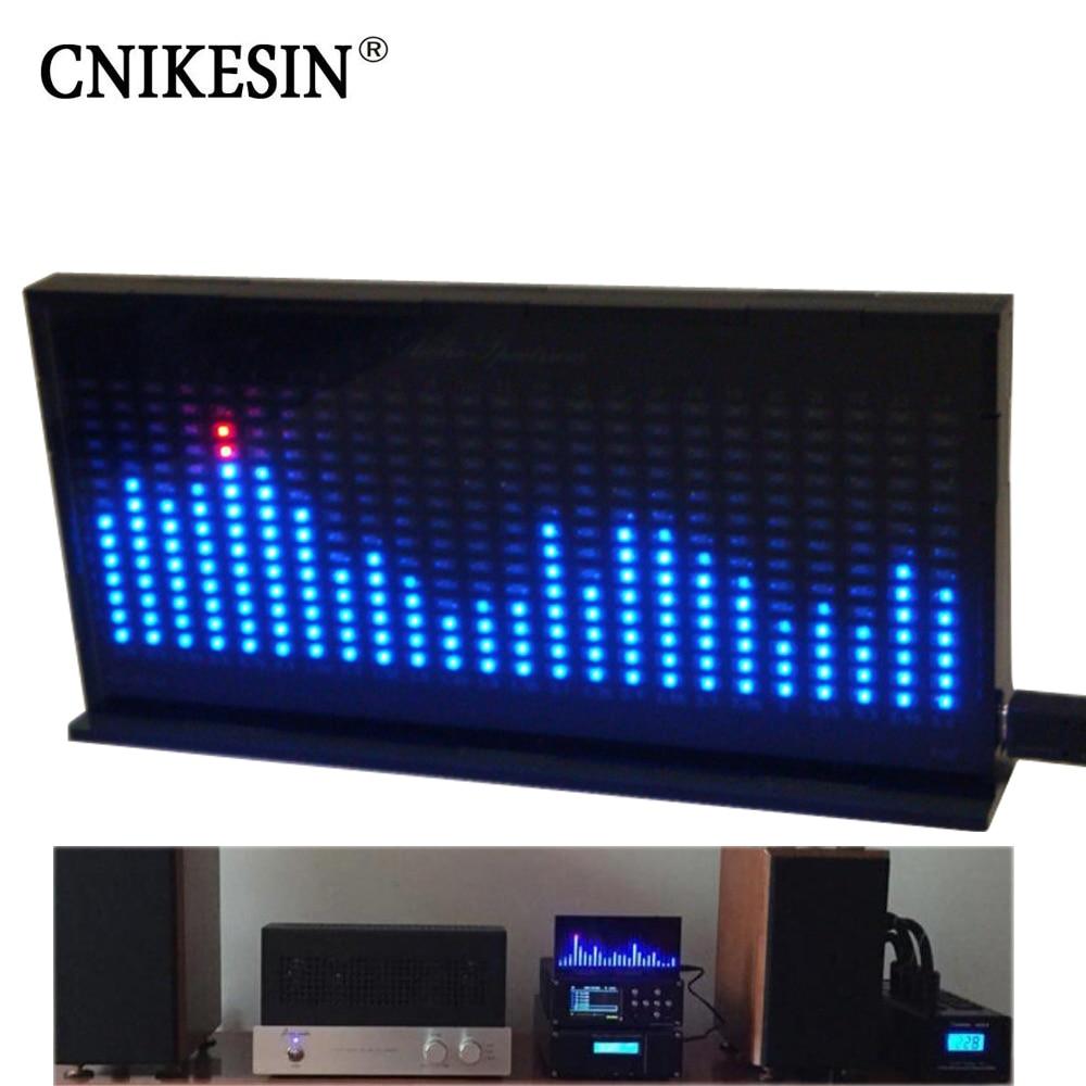 CNIKESIN bricolage kit AS1424 Professionnel spectre musical affichage LED indicateur de niveau Électronique BRICOLAGE kit Microphone sentiment