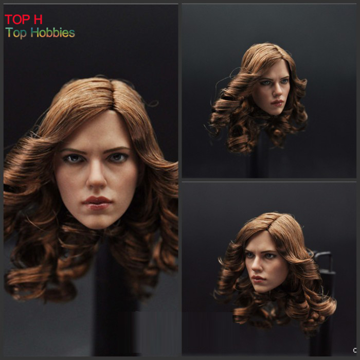 "USA 1//6 Europe Skin Caucasian Male Neck Body Model F 12/"" HT Kumik Head Figures"