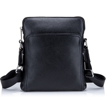 Genuine Leather men bag casual business men shoulder crossbody bag high quality cowhide zipper fashion male messenger bags