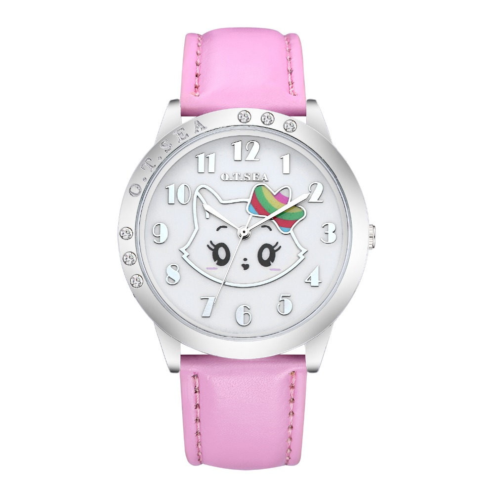 Cute Lovely Fashion Bracelet Hello Kitty Quartz font b Watch b font Children Kids font b