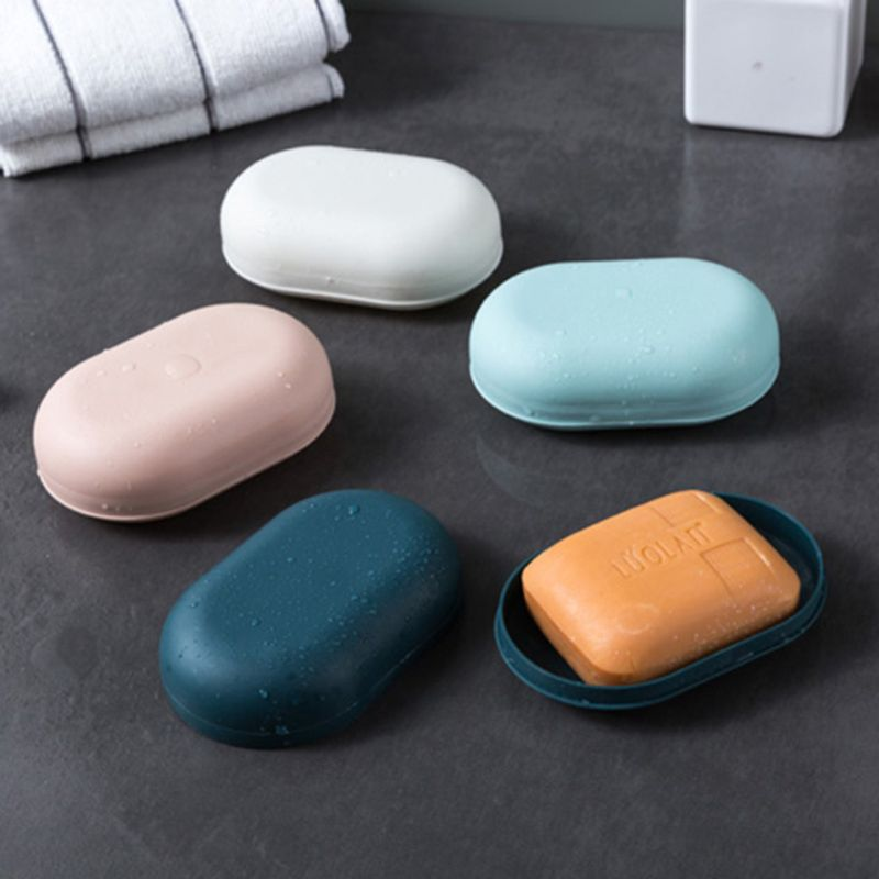 Travel Soap Box Camping Portable Container Hiking Soap Holder Dish Case Home Shower Bathroom Storage Organizer