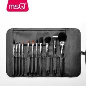Image 2 - MSQ Professional 11pcs แปรงแต่งหน้าแปรงแต่งหน้า CLASSIC Eyeshadow Lip Foundation แปรงแต่งหน้าแพะ/ม้า PVC จับ