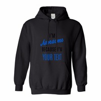 Hoodie Streetwear Leopard Hoodie Tops Men Hoodies Cotton Custom I M Awesome Because I M Your