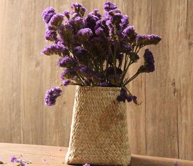 Envio Libre De La Rota Jarrones Flores Secas Naturales Cestas - Jarrones-con-flores-secas