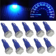 E93  2016 newest10 X T5 5050 1SMD Led Bulbs For Dashboard Gauge Light 70 73 74 2721 17free shipping