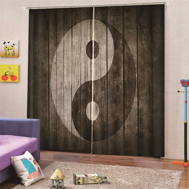 Chinese Dragon Curtain Kitchen Bedroom