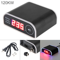 120KW 110 250V Rat Repelling Power Saver Wide Voltage Electricity Saving Box with LED Display and Power Switch for Home